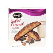 Nonnis Salted Caramel Biscotti -- 96 per case.