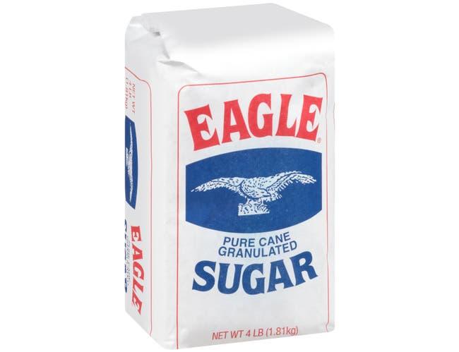 Eagle Ridge Granulated Sugar, 4 Pound -- 10 per case.