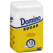 Domino Granulated Sugar, 10 Pound Bag -- 4 per case.