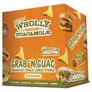 Wholly Classic Guacamole Snack Pack, 2 Ounce -- 30 per case.