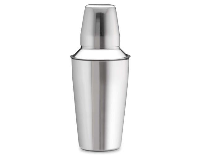 3-piece Stainless Steel Bar Shaker Shaker, 28 Ounce -- 48 per case
