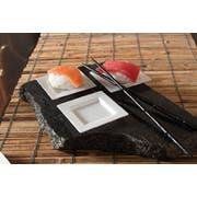 Small Wonders Black Mini Square Dish, 3 inch -- 200 per case.