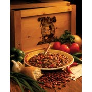 Whiteys Beef Chili with Beans - 5 lb. bag, 4 per cse
