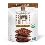 Sheila Gs Organic Chocolate Chip Brownie Brittle, 5 Ounce -- 6 per case.