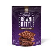 Sheila Gs Dark Chocolate Chip Sea Salt Brownie Brittle, 5 Ounce -- 6 per case.
