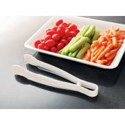 Party Tray Clear Tong, 9 inch -- 48 per case.