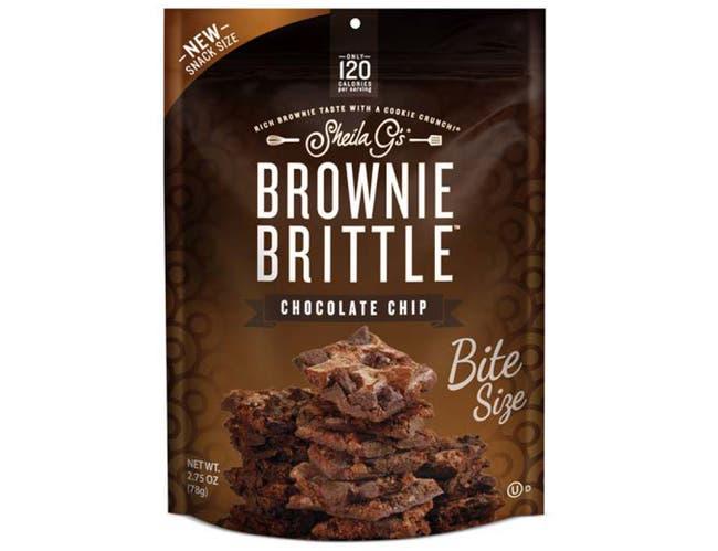 Sheila Gs Choc Chip Brownie Brittle, 2.75 Ounce -- 8 per case.