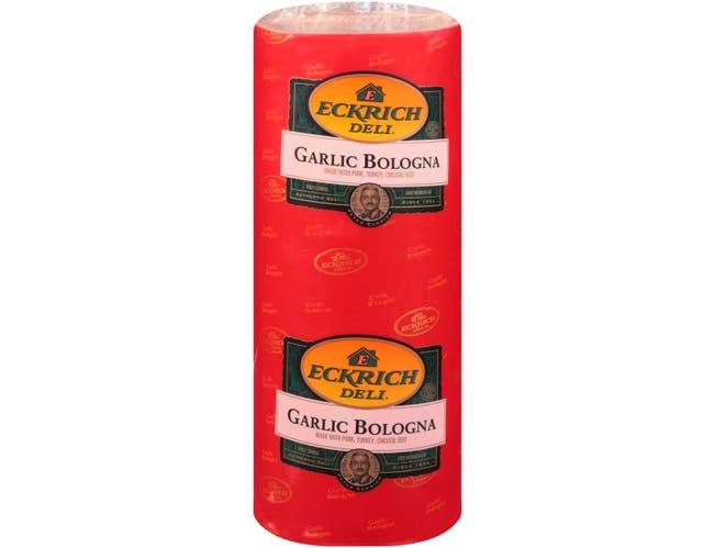 Eckrich Garlic Bologna, 8.75 Pound -- 2 per case.