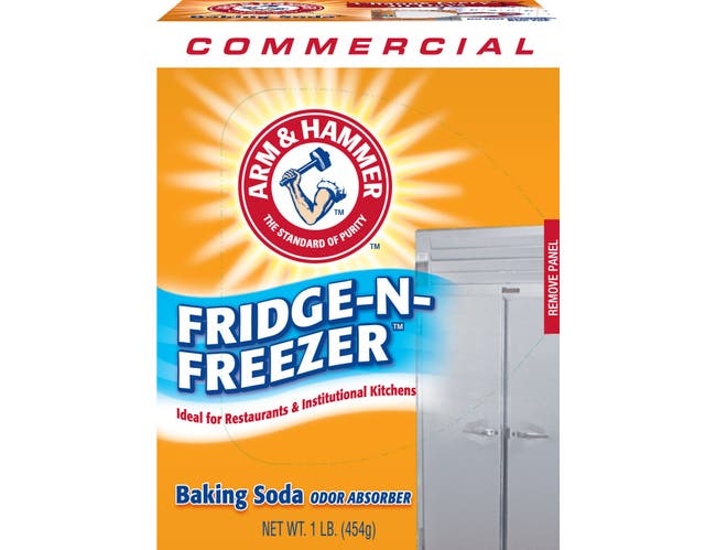 Arm and Hammer Fridge and Freezer Baking Soda, 16 Ounce -- 12 per case.