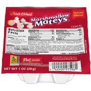 Malt O Meal Marshmallow Mateys Cereal, 1 Ounce -- 96 per case.