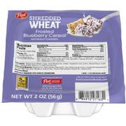 Post Blueberry Shredded Wheat Cereal, 2 Ounce -- 48 per case.