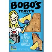 Bobos Blueberry Lemon Poppyseed Toaster Pastry, 2.5 Ounce -- 48 per case.