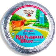Organic Valley Blue Wheel Cheese, 6 Pound -- 3 per case.