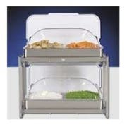 Cadco Stainless Steel Multi Level Buffet Server, 23.25 x 26 x 15.25 inch -- 1 each.