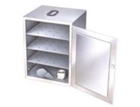 Lakeside Stainless Steel Solid Fuel Cannister 3 Shelf Food Carrier Box Only, 13.25 x 15 x 22 inch -- 1 each.