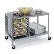 Lakeside Stainless Steel Mobile Portable Work Table, 27 x 48 x 34 inch -- 1 each.