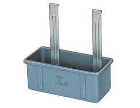 Lakeside Gray Jumbo Waste Box Only, 11 1/4 x 14 3/8 x 26 inch -- 1 each.