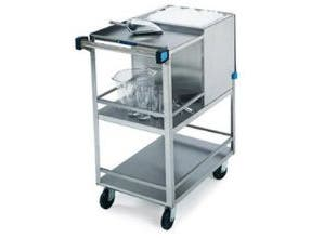 Lakeside Stainless Steel Ice Cart, 50 Pound Ice Capacity -- 1 each.