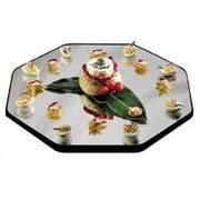 Lakeside Geneva Octagon Display Mirror Tray, 12 inch Overall Size -- 1 each.