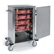 Lakeside Stainless Steel Economy Late Tray Delivery/Pick Up Cart without Cover, 18 3/8 x 30 3/4 x 46 inch -- 1 each.