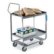 Lakeside Handler Series Heavy Duty Stainless Steel NSF Utility Cart with 2 Shelves, 16 1/4 x 30 x 46 1/4 inch -- 1 each.