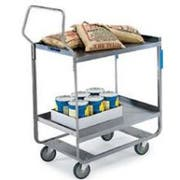 Lakeside Handler Series Heavy Duty Stainless Steel Utility Cart with 3 Shelves, 16 1/4 x 30 x 46 1/4 inch -- 1 each.