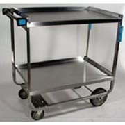 Lakeside Stainless Steel Heavy Duty NSF Traditional Utility Cart with 2 Shelves, 22 3/8 x 38 5/8 x 37 1/8 inch -- 1 each.