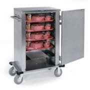 Lakeside Stainless Steel Elite Series Late Tray Delivery Cart, 6 Tray Capacity -- 1 each.