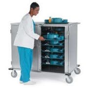 Lakeside Stainless Steel Elite Series Low Profile Tray Delivery Cart, 32 Tray Capacity -- 1 each.