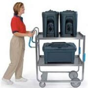 Lakeside Ergo One Series Heavy Duty Stainless Steel NSF Utility Cart with 2 Shelves, 18 5/8 x 35 3/8 x 46 3/4 inch -- 1 each.