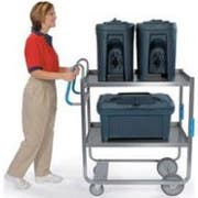 Lakeside Ergo One Series Heavy Duty Stainless Steel Utility Cart with 2 Shelves, 21 5/8 x 57 3/16 x 46 3/4 inch -- 1 each.
