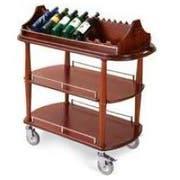 Lakeside Geneva Wood Veneer Spice Wine/Liquor Serving Cart, 21 5/8 x 43 3/8 x 41 3/8 inch Overall Size -- 1 each.