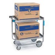 Lakeside Stainless Steel Heavy Duty Traditional Utility Cart with 3 Shelves, 16 1/4 x 30 x 34 1/4 inch -- 1 each.