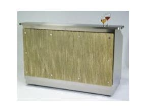Lakeside Geneva Wilson Collection Stainless Steel Interior Portable Bar, 8 Feet -- 1 each.