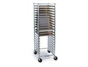 Lakeside Aluminum Knock Down Rack for Sheet Pans and Trays, 12 Full Sheet Pan Capacity -- 1 each.
