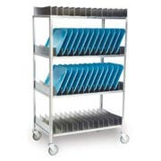Lakeside Stainless Steel Tray Drying Rack, 56 Tray Capacity -- 1 each.
