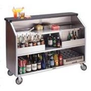 Lakeside Geneva Stainless Steel Interior with Laminate Exterior Finish Portable Bar, 80 Pound Ice Bin Capacity -- 1 each.
