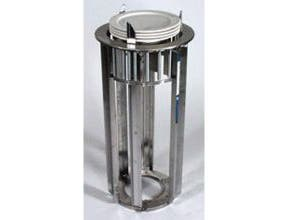 Lakeside Stainless Steel Non Heated Adjust-A-Fit ADA Height Open Drop In Dish Dispenser, 8.75 to 12 Inch Plates -- 1 each