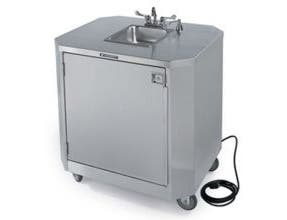 Lakeside Stainless Steel Mobile Hand Washing Station, 32 1/2 x 38 1/2 x 45 inch -- 1 each.