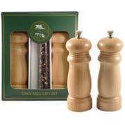 Chef Specialties Salem Natural Pepper and Salt Mill Set, 6 inch -- 1 each.
