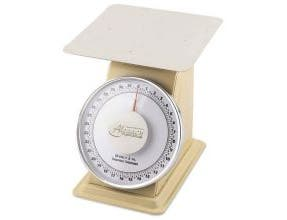 Alegacy Fixed Dial Heavy Duty Portion Control Scale, 2 Pound Capacity -- 1 each.