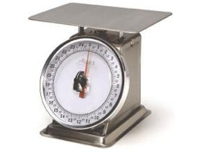 Alegacy Fixed Dial Portion Control Scale, 2 Pound Capacity -- 1 each.