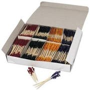 Alegacy Wooden Toothpick Frill, 4 1/4 inch -- 10000 per case.