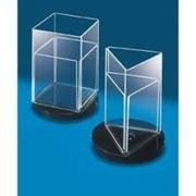 CalMil Revolving Square Cardholder, 4 x 6 inch -- 12 per case.