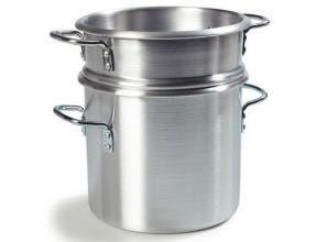 Carlisle 3003 Aluminum Double Boiler, 20 Quart -- 1 each.