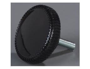 Carlisle Black Replacement Post Knob Only -- 1 each.