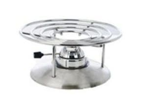 Eastern Tabletop Stainless Steel Round Orbit Grill Stand, 11.5 x 11.5 x 6 inch -- 1 each.