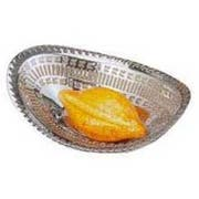 Eastern Tabletop Oval Lace Bread Tray, 10 inch -- 1 each.
