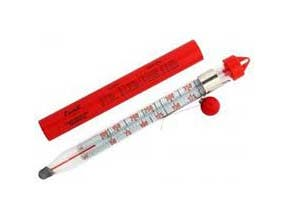 San Jamar Deep Fry/Candy Thermometer, 1.5 x 0.88 x 8.5 inch -- 1 each.
