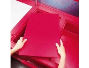 Cambro Full Size Well Cover Only, Hot Red, 21 x 13 x 2 inch -- 1 each.